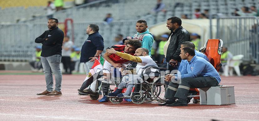 مباراة مصر وتوجو الودية