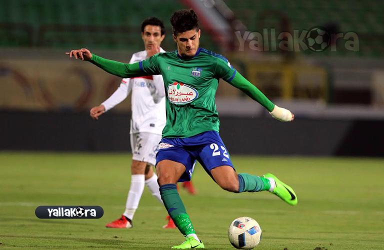 احمد الشيخ لاعب المقاصة