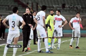 مباراة مصر المقاصة والزمالك