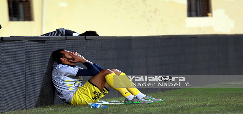 جنش حارس الزمالك بعد المباراة