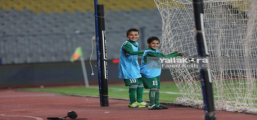 لقطة من مباراة الاتحاد والأهلي
