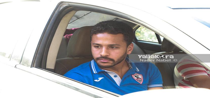 احمد رفعت يصل بتروسبورت