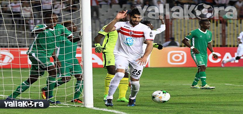 طارق حامد فى المباراة