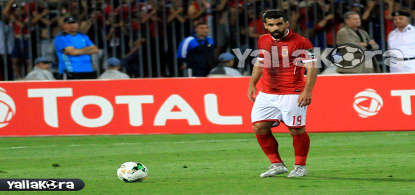 عبد الله السعيد فى مباراة الأهلي وزاناكو