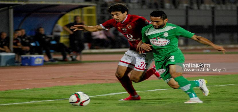 محمد هاني فى المباراة
