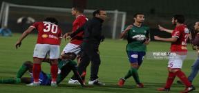 مباراة مصر للمقاصة والأهلي