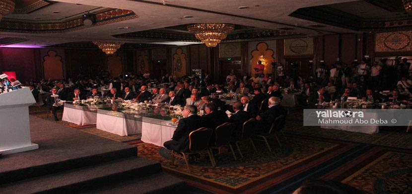 حفل تكريم حسن حمدي رئيس الأهلي السابق
