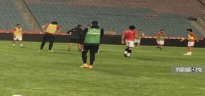 مران منتخب مصر الأخير قبل مباراة تونس