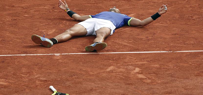 نادال بطلاً لبطولة فرنسا المفتوحة للتنس