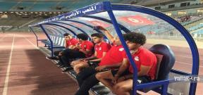 وصول منتخب مصر لملعب رادس بتونس