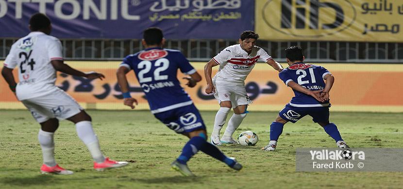 محمد مسعد فى المباراة
