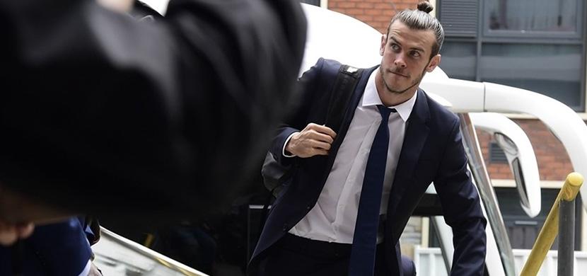 جاريث بيل لاعب ريال مدريد في كارديف