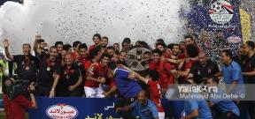 تتويج الأهلي بالدوري المصري