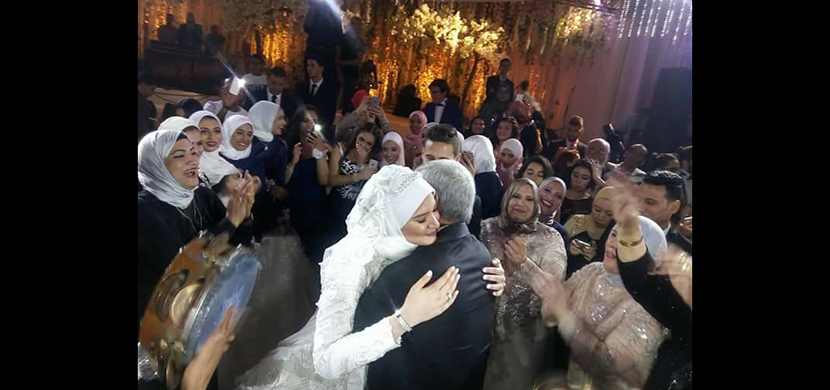 حفل زفاف رمضان صبحي