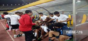 مران منتخب مصر استعداداً لمباراة تونس
