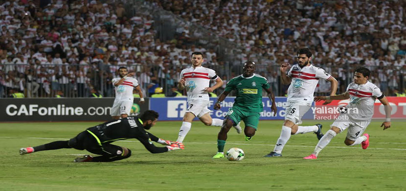 مباراة الزمالك وأهلي طرابلس