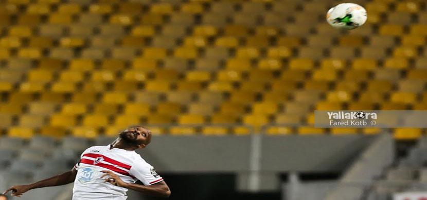 لقطة لشيكابالا فى المباراة