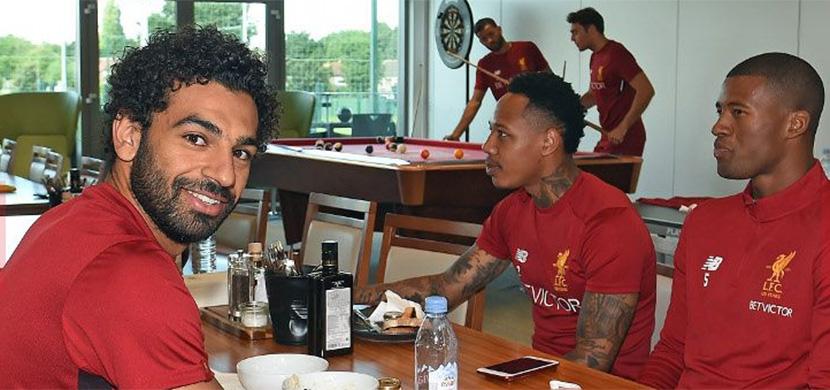 المران الاول لمحمد صلاح مع ليفربول