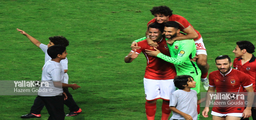فرحة عمرو جمال واحمد عادل ومحمد هاني