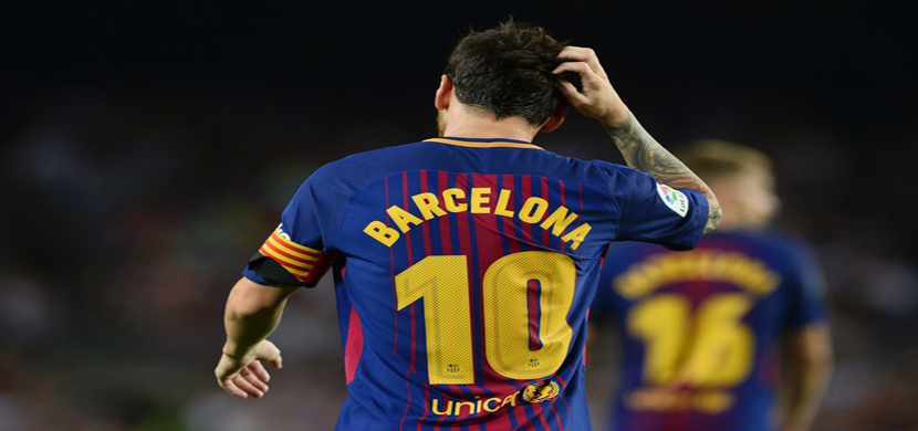 ميسي في مباراة برشلونة وبيتيس