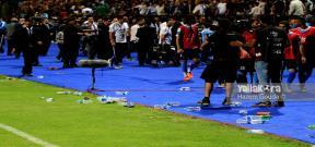 شغب لاعبي وجماهير الفيصلي الاردني