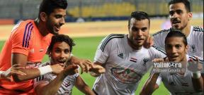 مباراة الزمالك والمصري