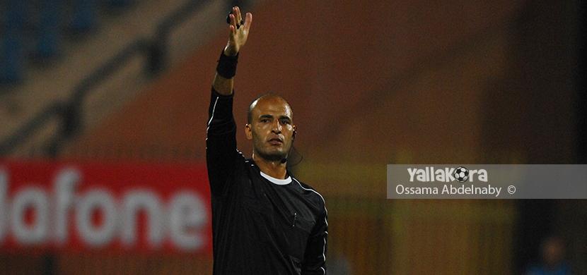احمد حمدي حكم مباراة الاهلي والجيش