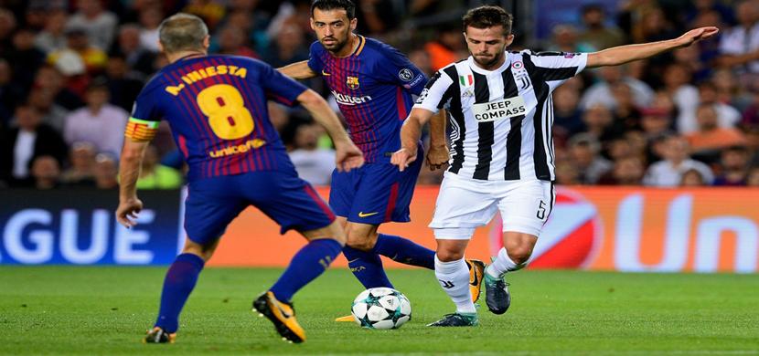 بيانيتش يسدد على مرمى برشلونة