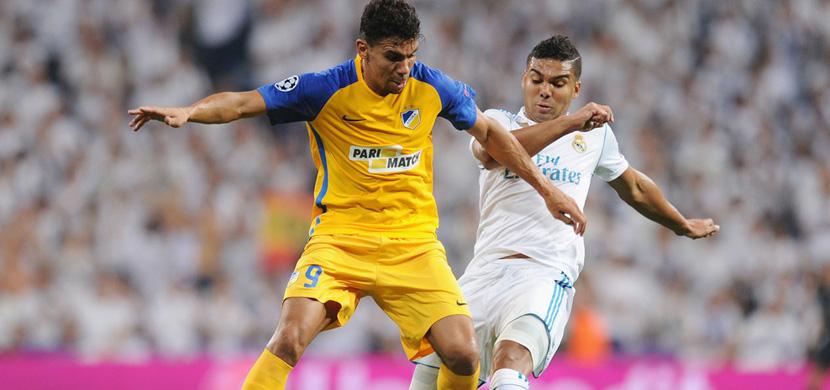 مباراة ريال مدريد وابويل