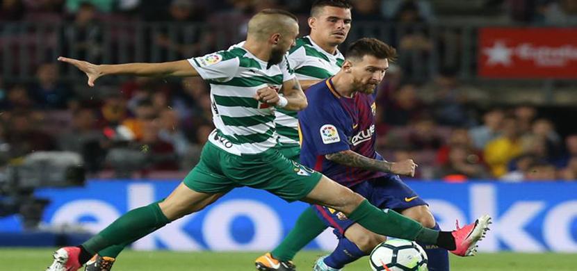 مباراة برشلونة ايبار
