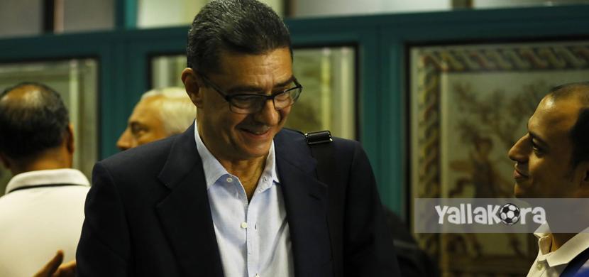 محمود طاهر رئيس بعثة الأهلي
