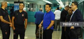 وصول بعثة الأهلي الي تونس