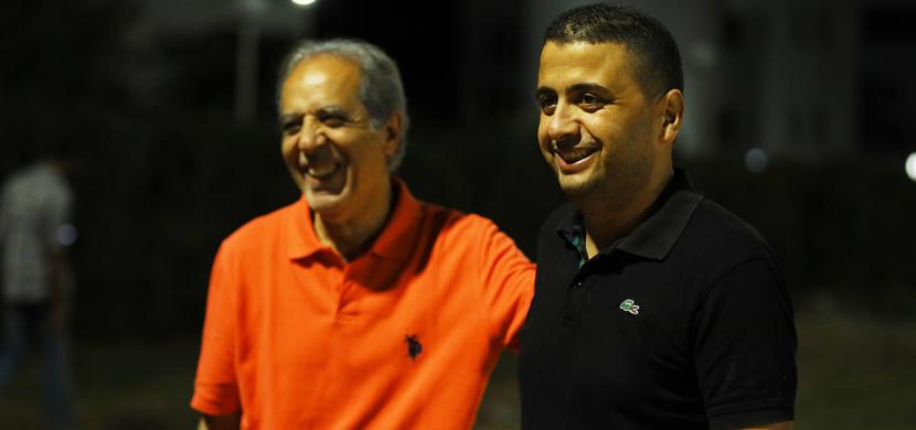 مران الأهلي في تونس استعدادا لمواجهة الترجي