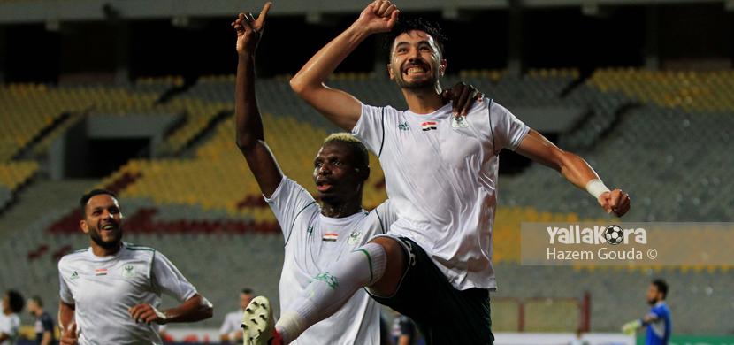 فرحة ابو سليمة لاعب المصري