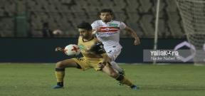 مباراة الزمالك والإنتاج الحربي