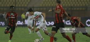 مباراة الداخلية والزمالك