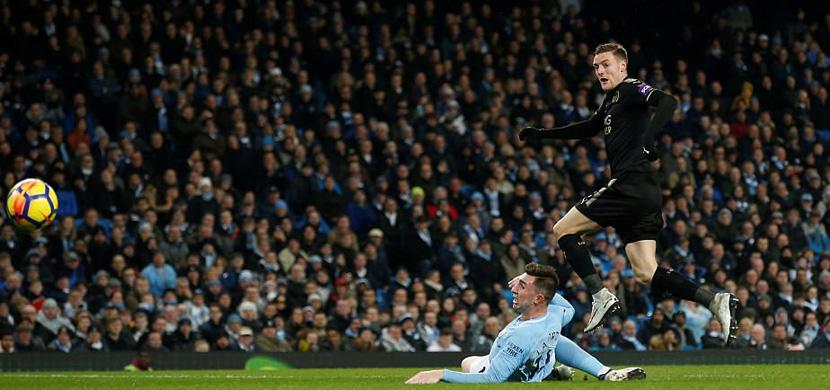 فاردي يحرز هدف في مانشستر سيتي
