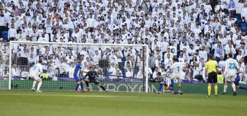 مباراة ريال مدريد وألافيس