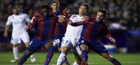 مباراة ليفانتي وريال مدريد