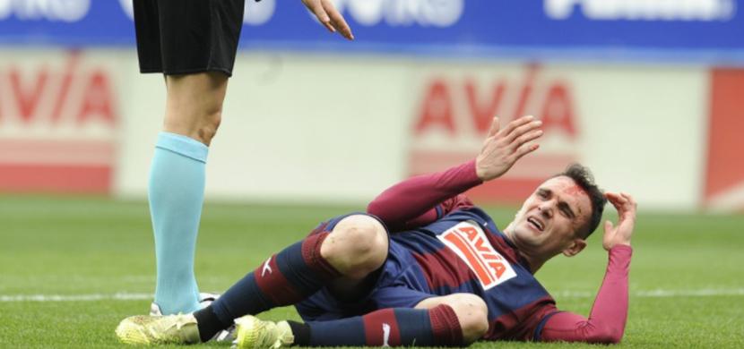 إصابة لاعب ايبار