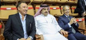 زيارة تركي آل الشيخ للنادي الأهلي