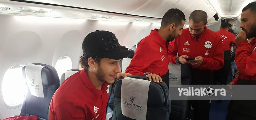 رحلة بعثة منتخب مصر لسويسرا