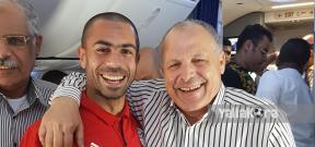 رحلة بعثة منتخب مصر لروسيا