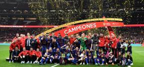 تتويج برشلونة بطلاً لكأس ملك إسبانيا