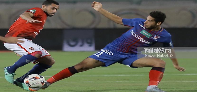 أحمد فتحي في مباراة بتروجيت