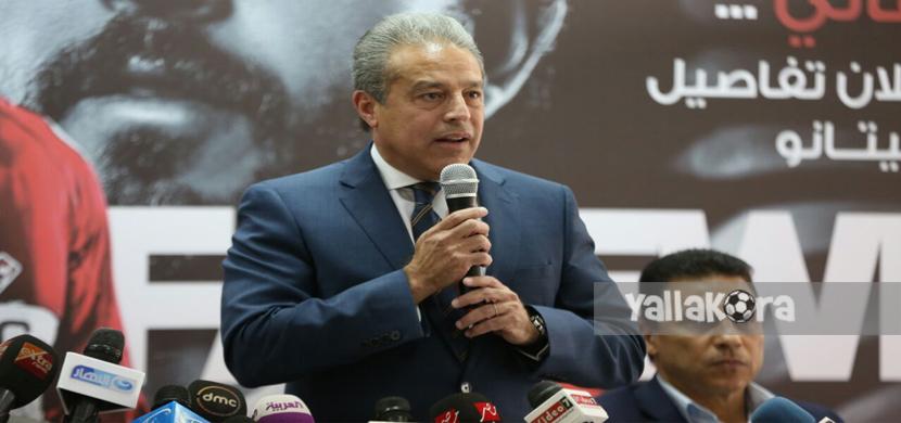 خالد الدرندلي عضو مجلس ادارة الأهلي