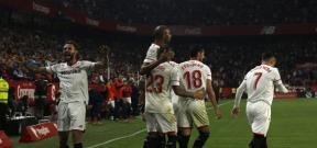مباراة اشبيلية وريال مدريد