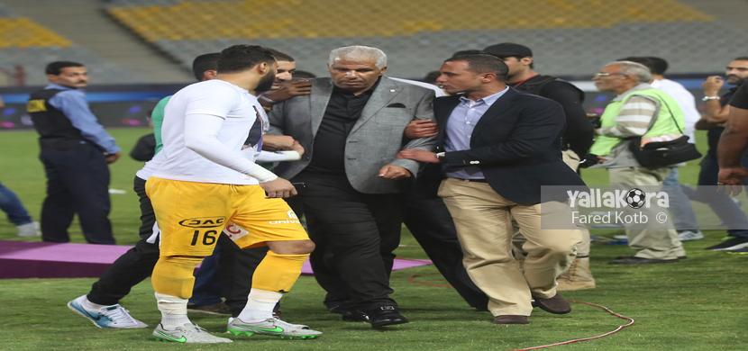 مشادة بين ميمي ومرتضى منصور