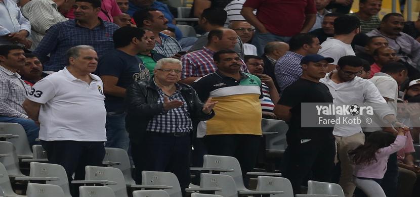 انفعالات مرتضى منصور في المباراة