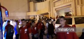 وصول منتخب مصر إلى الكويت